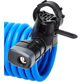 ABUS Primo 5510 Key Spiralkabelschloss 180cm SCMU blau